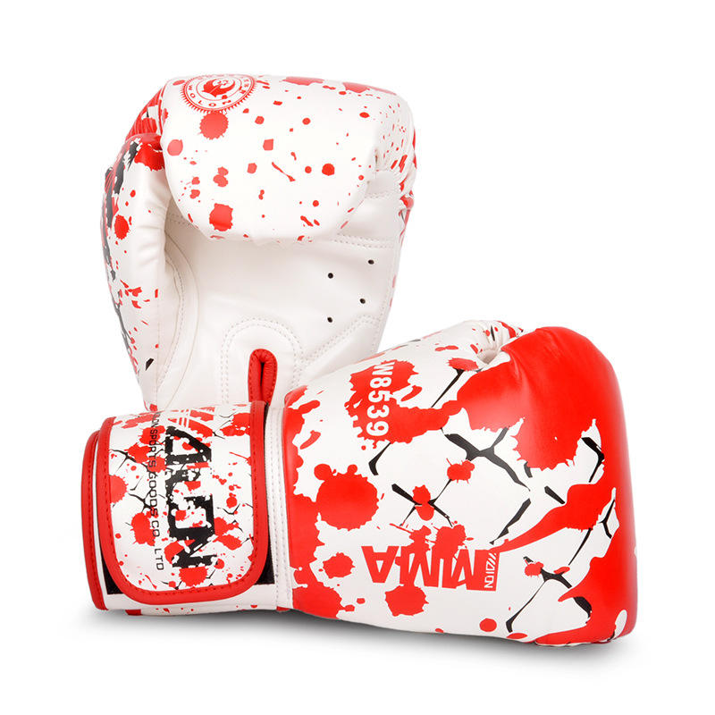 Pu Custom Boxing Gloves Leather
