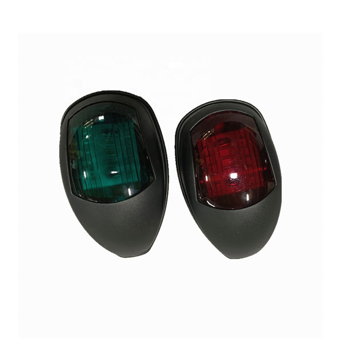 Xiamen Sunshine Marine Hot Sale One Pair Bow Navigation Light Waterproof 12V LED Red Green Marine Boat Yacht