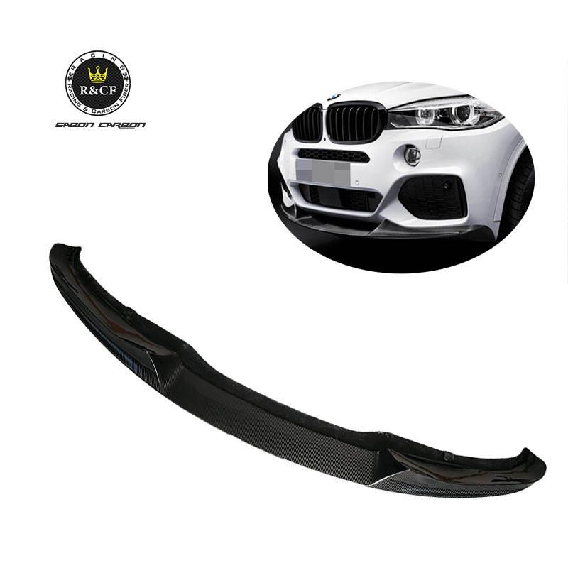 Carbon Fiber Front Bumper Splitter Lips For BMW E91 E90 LCI M-tech Mtech 09-12