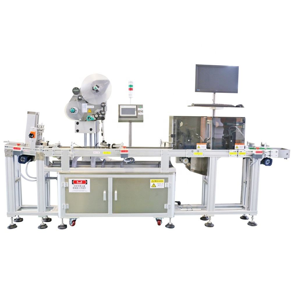 automatic paging labeling machine for clothes hang tag