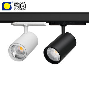 CRI90 anti glare flicker free 14-42W LED track light with 5 years warranty