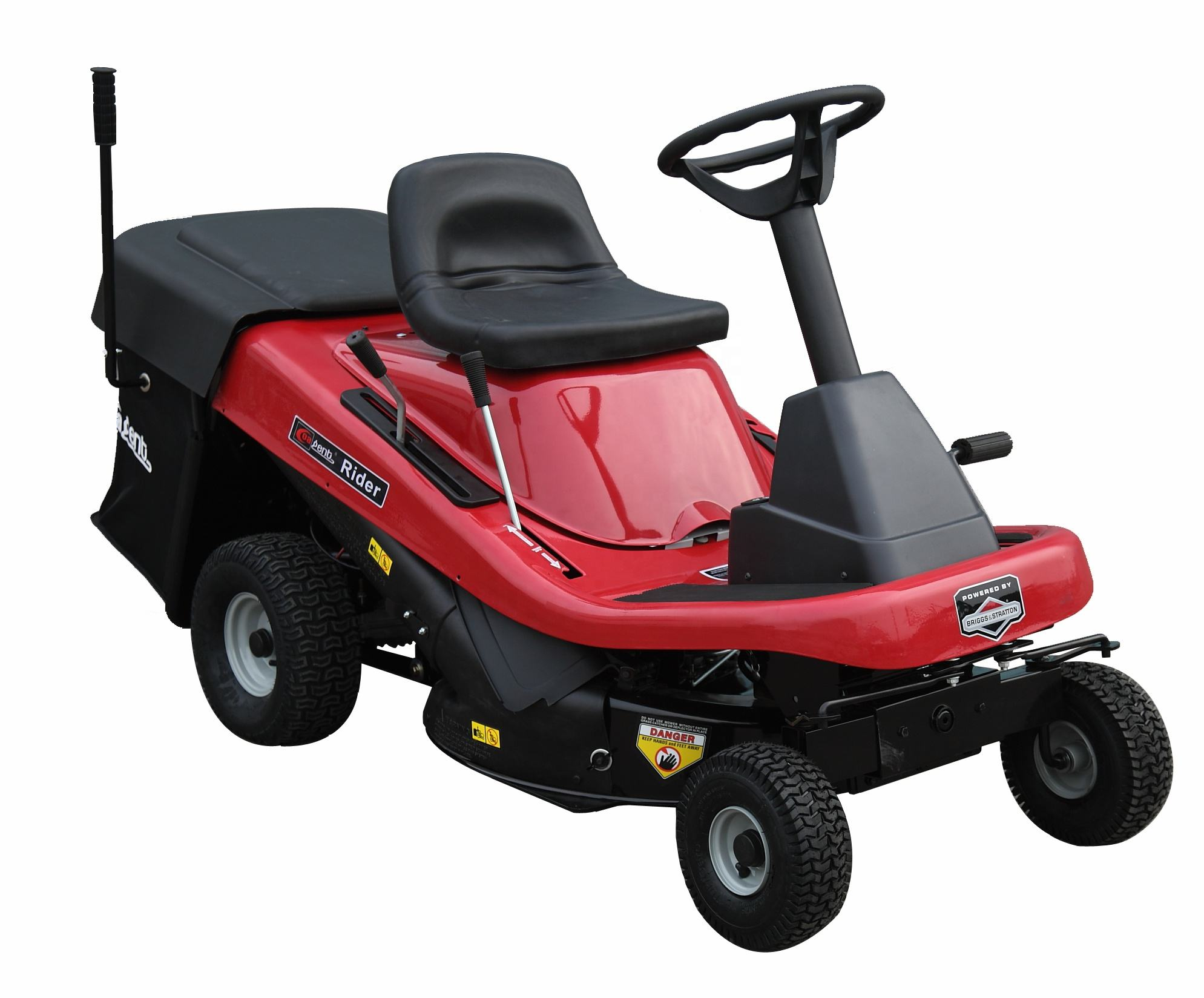 Newest Garden machine CJ30GZZRL150 Tractors Lawn Mowers of 30Inch Riding Lawn Mower In Mechanical Way With Locin 15HP 432CC eng