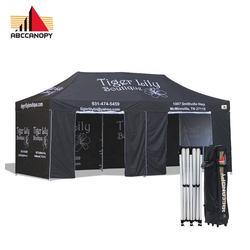 10x20 Custom Tent, Portable Folding Gazebo 10 by 20 Canopy 10x20 full print canopy tent