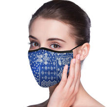 patterns cartoon reusable air pollution wind cotton fabric cloth face mouth dust mask