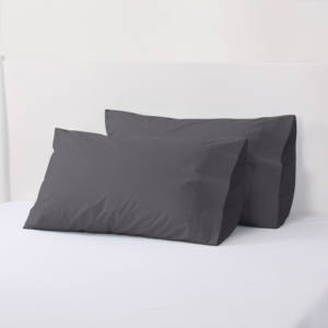 2020 Custom Private Label Grey Couple Soft King Size Hotel Pillow Case
