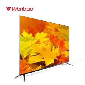 Wanbao Unique size 58inch 4K UHD smart Television 4K Smart TV 55inch 58 65 inch Digital Big UHD QLED TV