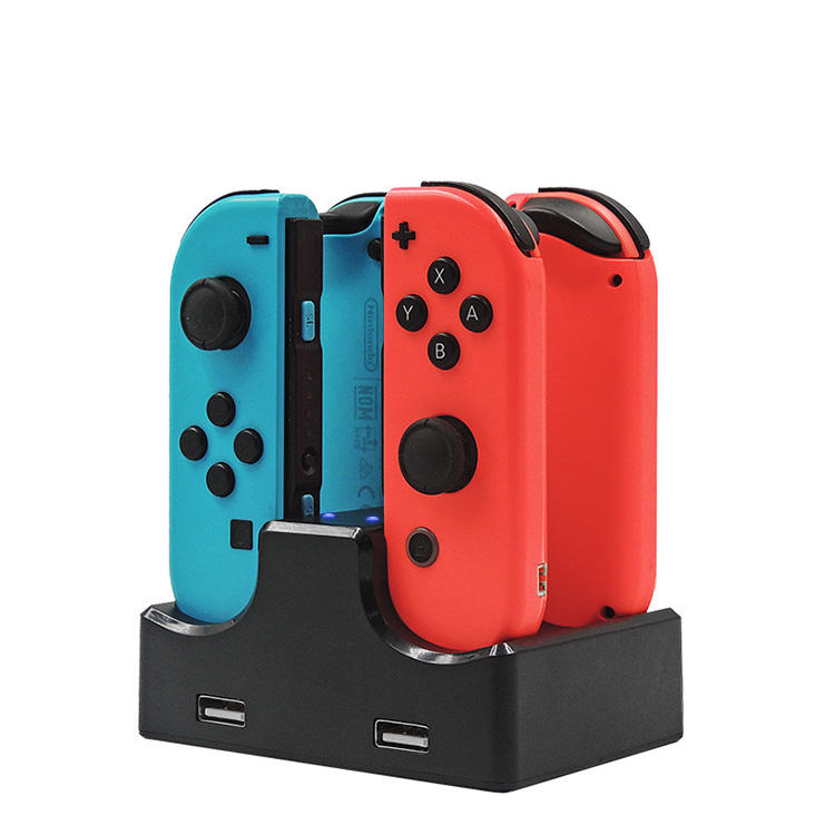2019 NOUVEAU iplay S003 support <span class=keywords><strong>de</strong></span> charge pour nintendo switch contrôleur 4 en 1 station <span class=keywords><strong>de</strong></span> recharge et <span class=keywords><strong>chargeur</strong></span>