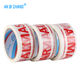 Carton Sealing Printed BOPP Material White Packing Tape with Color Logo 45MIC X 48MMX 100M