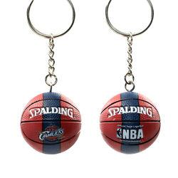 Team memorabilia Pendant  Gifts for fans  Basketball Keychain Keyring souvenir
