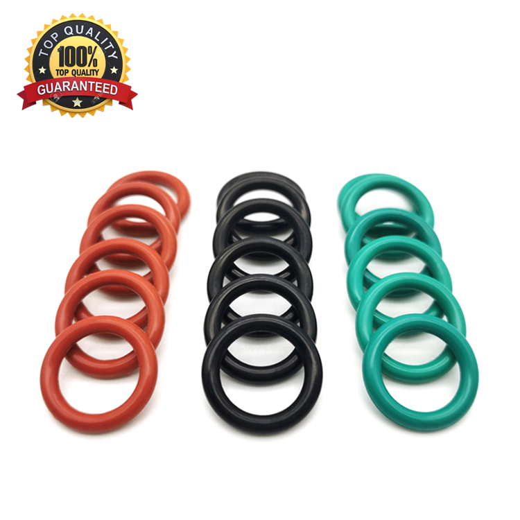 China Factory NBR HNBR FFKM FKM EPDM Silicone Material Rubber O-Ring With Factory Price