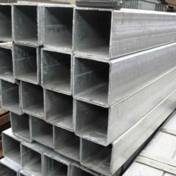 ERW steel square tubing standard sizes pre zinc coated square galvanized steel pipe 4 tube