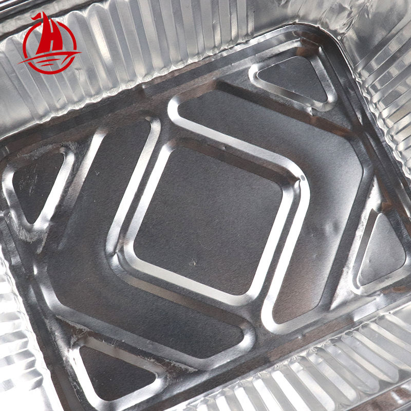 260/450/600/700/1100/1400ML work home packing fast food disposable aluminum foil container for food package