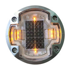 Solar traffic led cat eye inground road stud light reflector suppliers