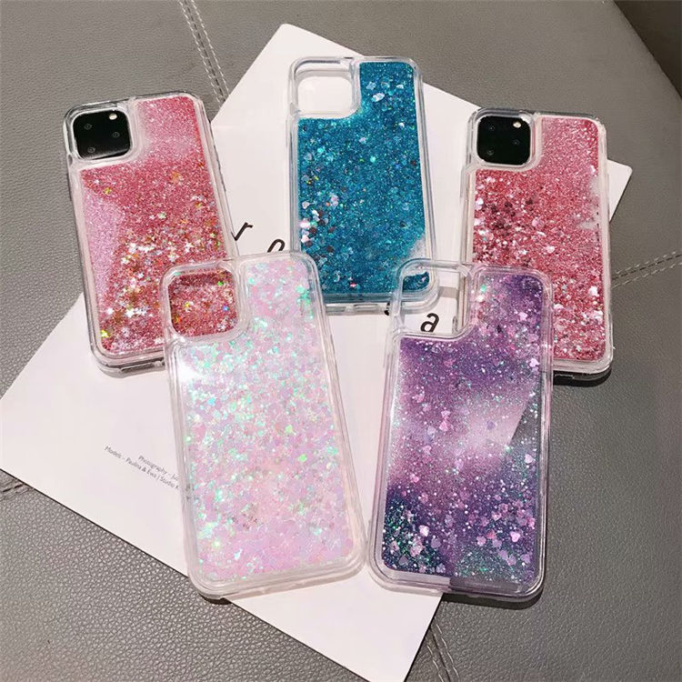 For Redmi NOTE9/NOTE9PRO/NOTE9PROMAX /NOTE9S Glitter Case ,Luxury Sparkle Soft TPU Liquid Case for redmi note 8