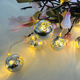 China Decorations Silver Decoration Series Decorative Lights China Christmas Decorations Silver Christmas Decoration Ball Set String Light