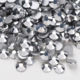 Super Shiny SS3-SS34 White Opal Glitter Non Hotfix Opal Color 2D Nail Art Decorations Flatback Rhinestones Strass Stones