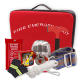 Fire emergency kit/box including full face fire face shield protect mask, safety rope and fire emergency hatchet