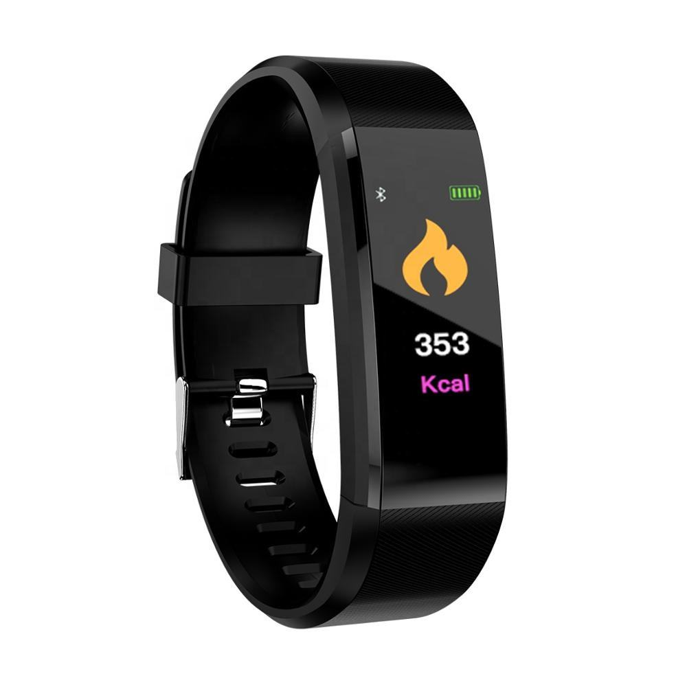 Y1 Dynamic Heart Rate Monitor 0.96 Inch Color Screen Smart Bracelet IP67 Fitness Tracker Sport Blood Pressure Exercise 115 PLUS