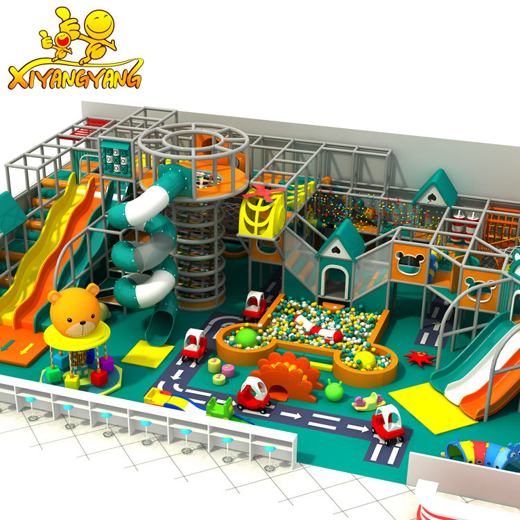 2020 Multi-functional Design New Theme QILONG Play Equipment Indoor Playground