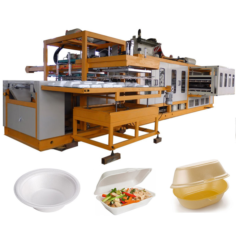 Thermocol Plate/PS Take Away Food Box Machine Production Line Price