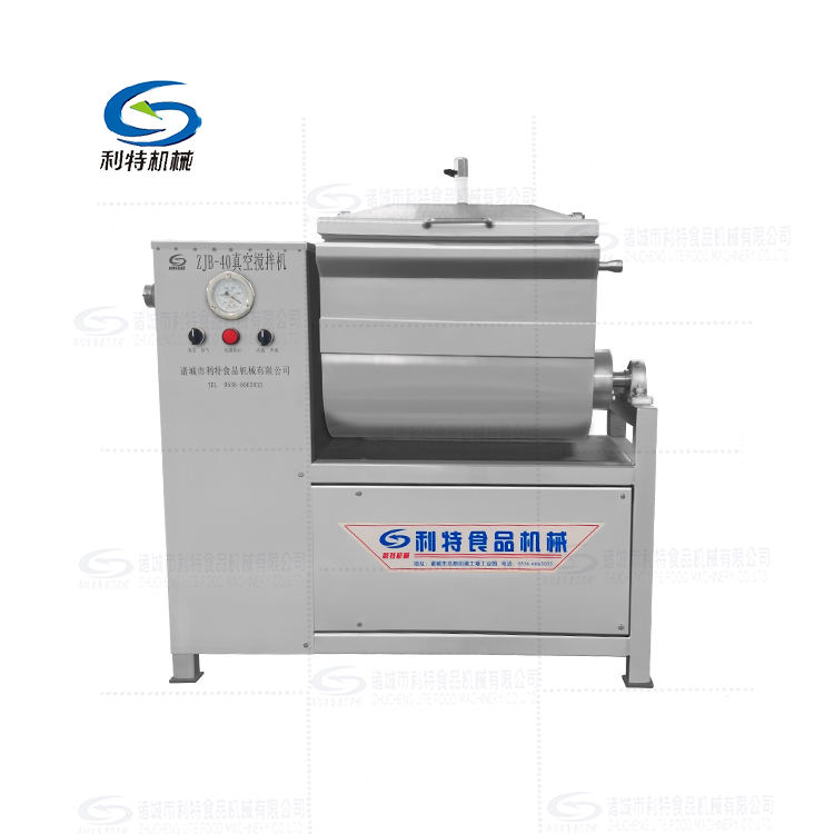 Commercial vacuum meat stuffing mixer blender machine vacuum filling machine for sale