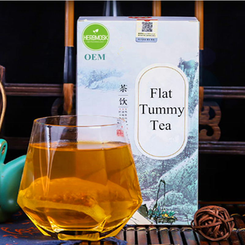 Herbmosk Hot Wholesale Fast Flat Tummy Tea with Cheap Price