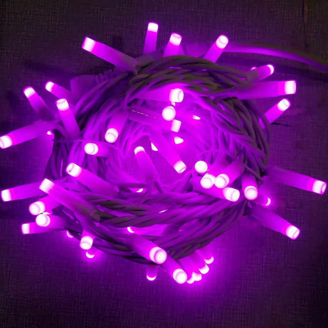 5m 50leds Rubber Cable IP44 Glue Filling Led Christmas Twinkle String Light