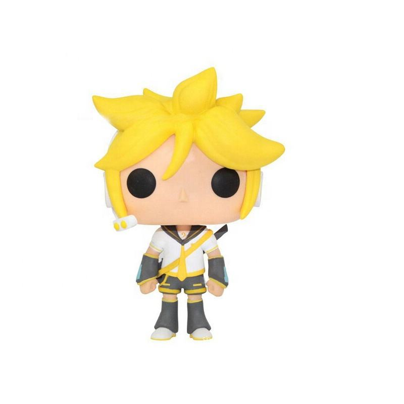 FUNKO POP Kagamine Len Headsets Yellow Hair Action Figures Collectible Model Toys Doll Desktop decoration wholesale #38