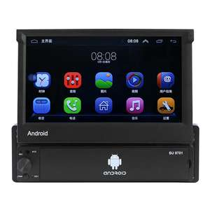 Android 8.1 Auto Radio Versenkbare GPS Wifi Autoradio 1 Din 7 zoll Touch Screen Auto GPS navigation MP5 Player