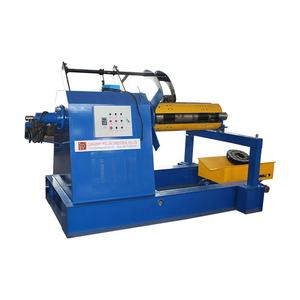 Low price Hydraulic Single-head Uncoiler Straightener Machine for Steel Coil