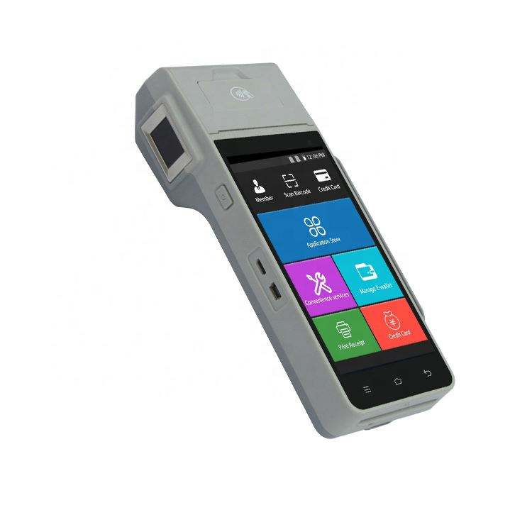 HF-HP605 Cheapest Price Wholesale Touchscreen Bank Card EMV POS Machine