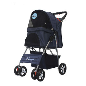 New fashion pet cart pet dog travel stroller trolley dog stroller
