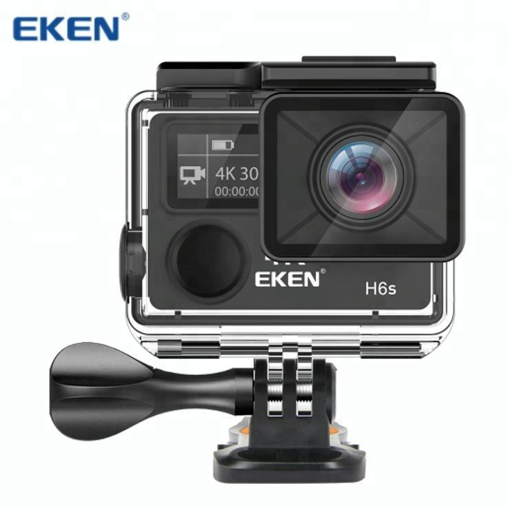 Action Camera EKEN H6S Ultra HD 4K WiFi EIS Electronic Image Stabilization Pana sonic34112 Sensor 1080P Pro Sport DV Camera