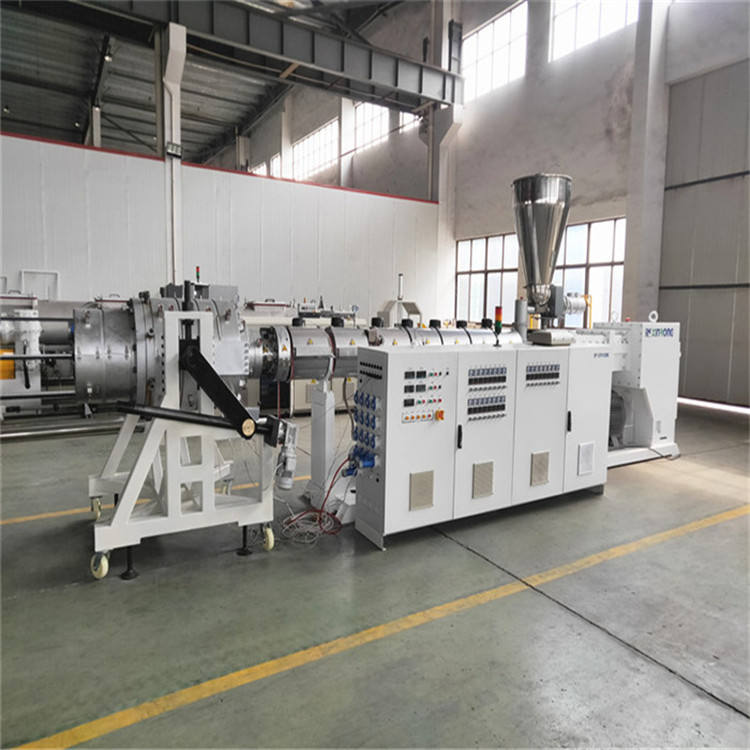 pvc water plastic pipe making machine producing equipment line