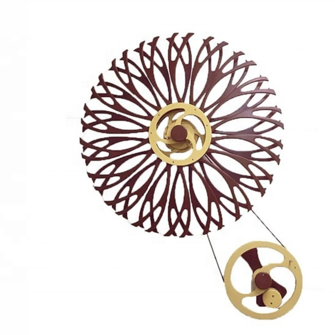 New Arrival Moving Kinetic Wall Art Sculpture
