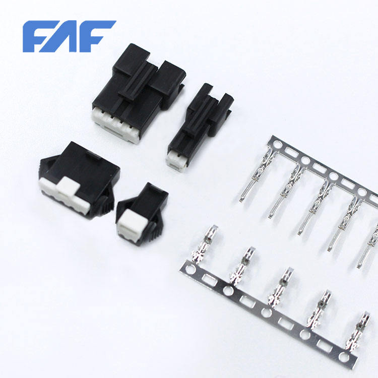 Hot Selling JST SM 2.5mm pitch male connector from China factory SMP-4V-BC