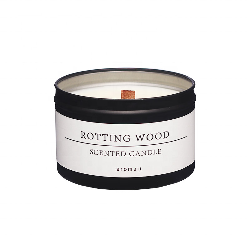 Wholesale Scented Woodwick Candles In Tin