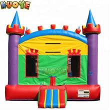 Rainbow bounce house inflatable Fun Castle House Jumper Inflatables