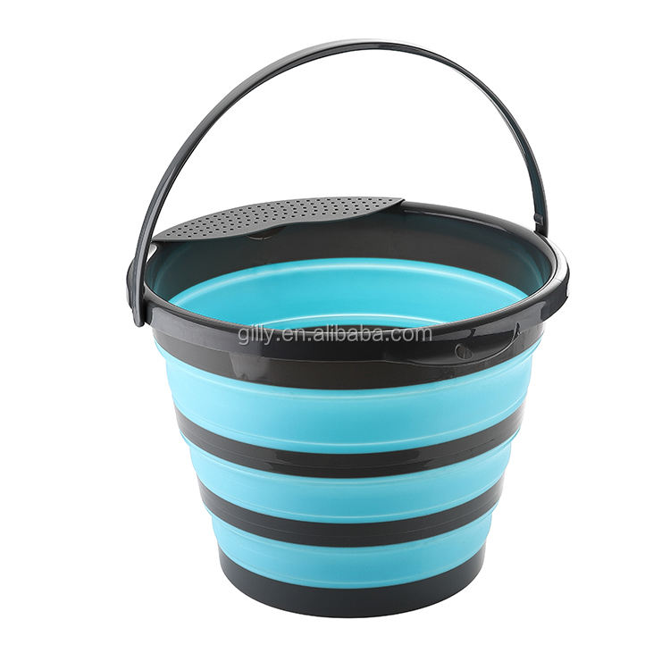 new Portable Folding Water bucket for camping hiking home and kitchen