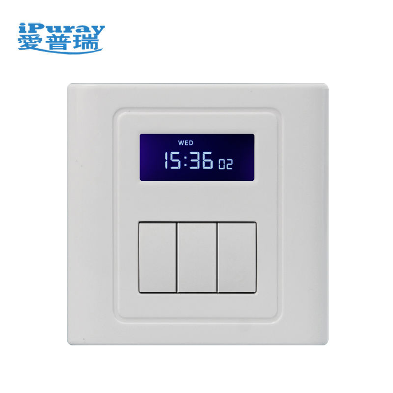 Timer Switch With Daily Multiple Period Settings For 3 Loads