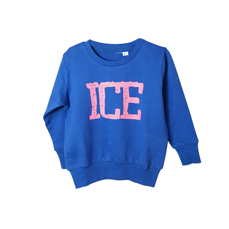 Wholesale Custom Design Knitted Child Clothes Autumn Winter Fashion Pullover Sweater Baby Boys Kids Plain Light Sweatshirts