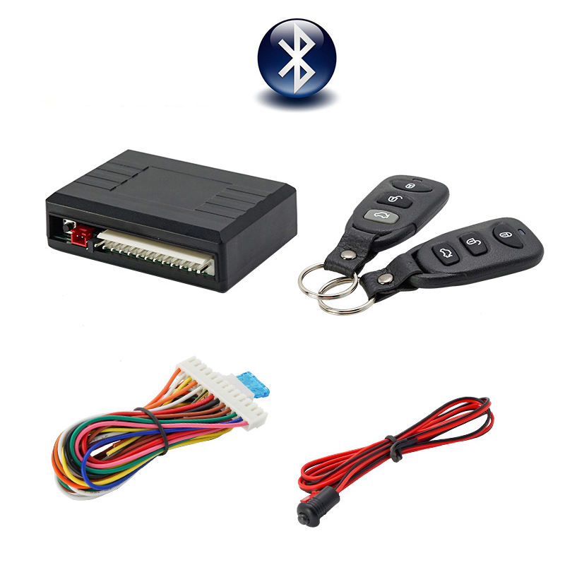 Universal Auto Keyless Entry System <span class=keywords><strong>wireless</strong></span> smart auto alarm system
