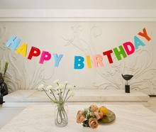 Custom Felt Happy Birthday Banner Thailand