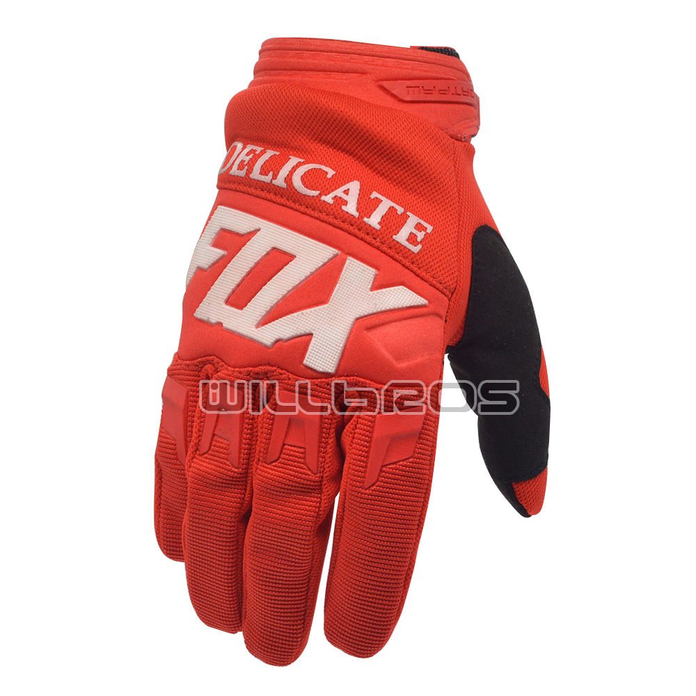 Delicate Fox Motorbike MX MTB DH Bike Off-road Motorcycle Racing Enduro Downhill Riding Dirtpaw 360/180 Race Gloves