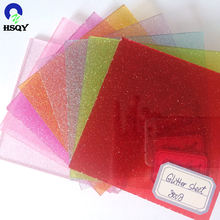 Decorative shining sheets glitter acrylic sheets