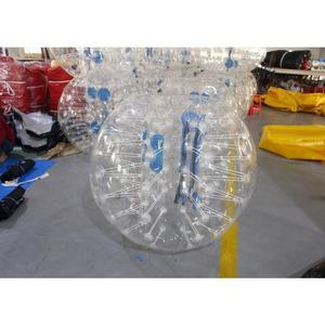 0.8MM PVC Inflatable bumper ball bubble soccer ball for football sport game