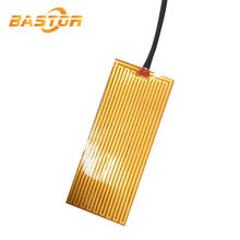 5v powered flexible polyimide film small battery operated heating element