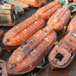 Harding made in Norway marine enclosed lifeboat for sale