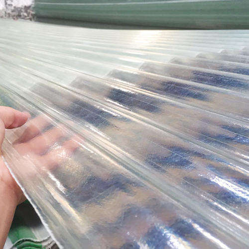 impact resistant FRP fiber glass corrugated roofing sheet