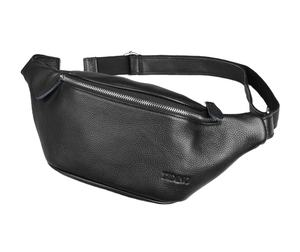 High quality leather waist bag for fashion young men